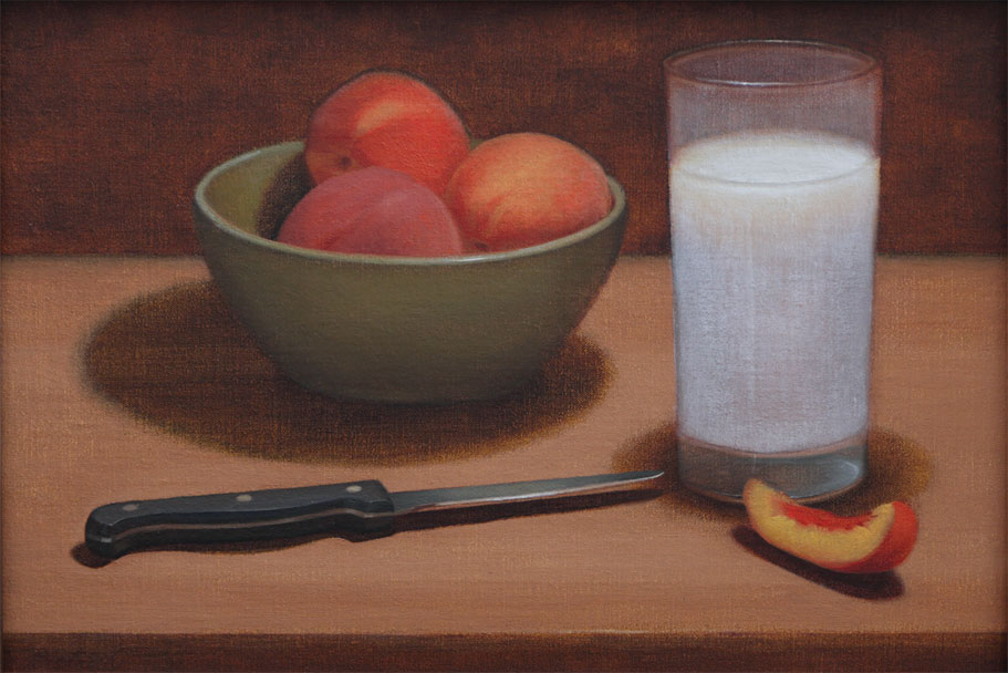 David John Dietrich Peaches and Cream art